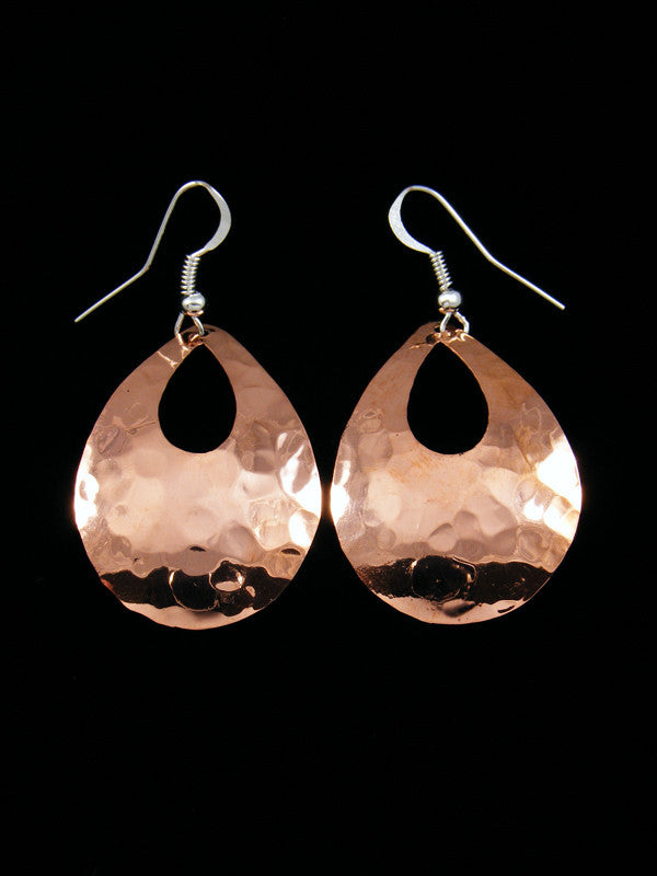Navajo Copper Dangle Earrings