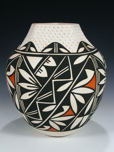Acoma Pueblo Hand Coiled Pottery by Earlene Antonio - PuebloDirect.com - 1