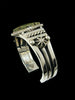 Native American Sterling Silver Damele Cuff Bracelet by Albert Lee - PuebloDirect.com - 2