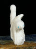 White Marble Bird Family Zuni Fetish by Destry Siutza - PuebloDirect.com - 3