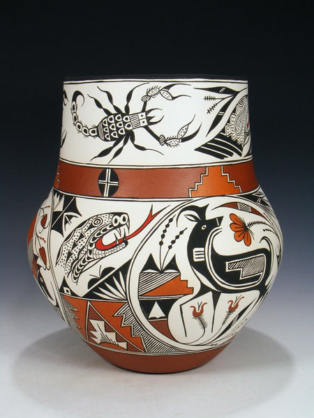 Acoma Pueblo Pot Deer Pottery
