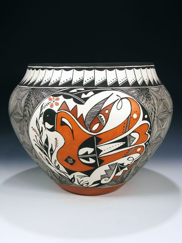 Acoma Pueblo Pottery by Roberta H Trujillo - PuebloDirect.com - 1