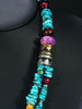 Turquoise Multistrand Necklace by Tommy Singer - PuebloDirect.com - 2