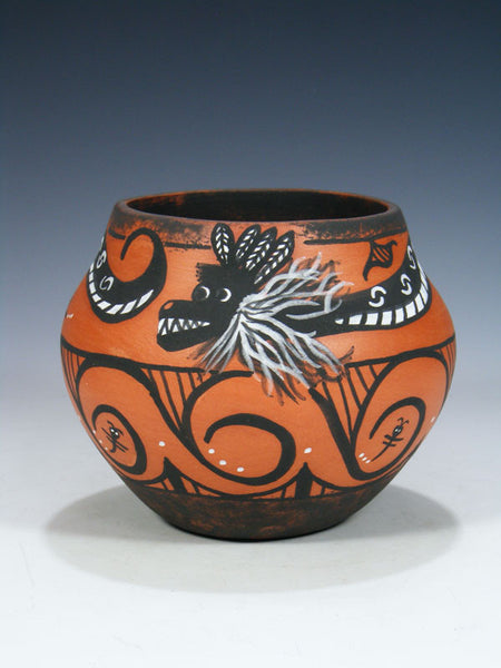 Zuni Pueblo Hand Coiled Pottery by Darla Westika - PuebloDirect.com - 1