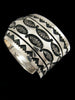 Old Pawn Indian Sterling Silver Bracelet by Marc Antia - PuebloDirect.com - 2