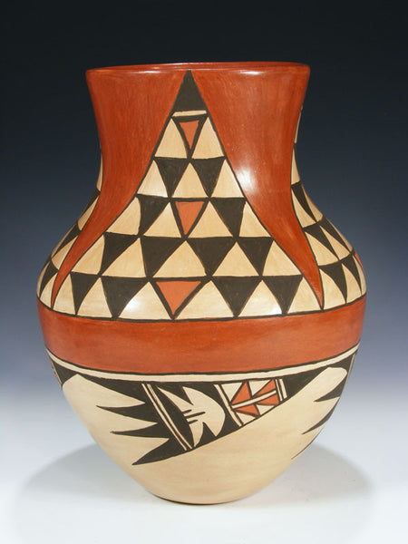 Jemez Pueblo Pottery by Juanita Fragua - PuebloDirect.com - 1