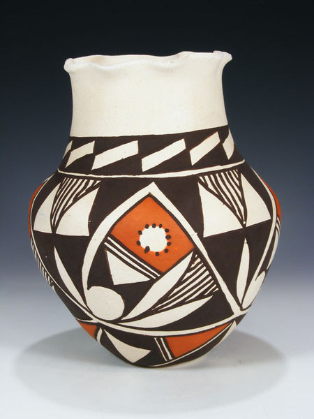 Acoma Hand Coiled Pueblo Pottery by Regina Leno - PuebloDirect.com - 1