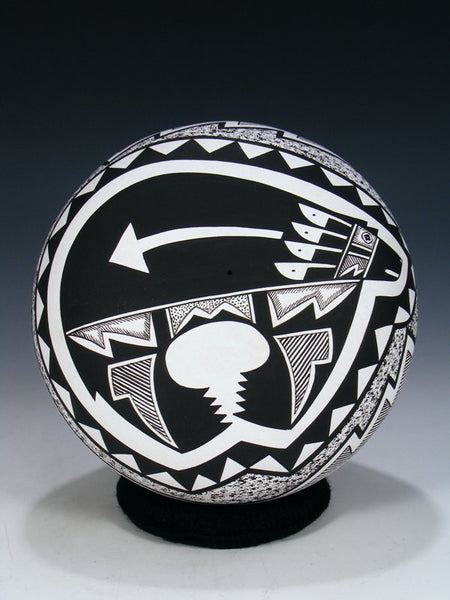 Hand Painted Acoma Pueblo Pottery