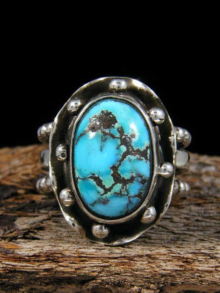 Persian Turquoise Ring, Size 9