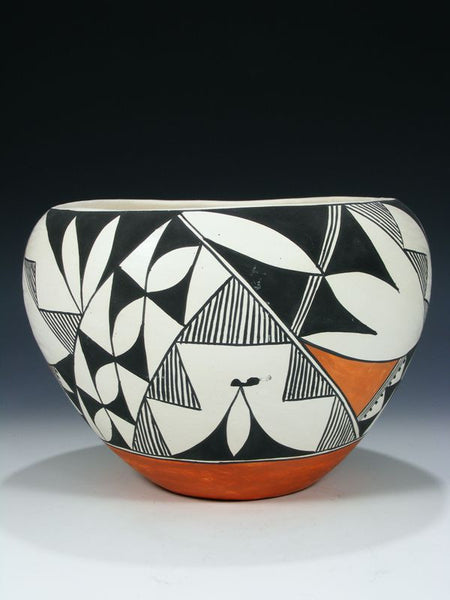 Acoma Pueblo Hand Coiled Pottery by Emmalita Chino - PuebloDirect.com - 1