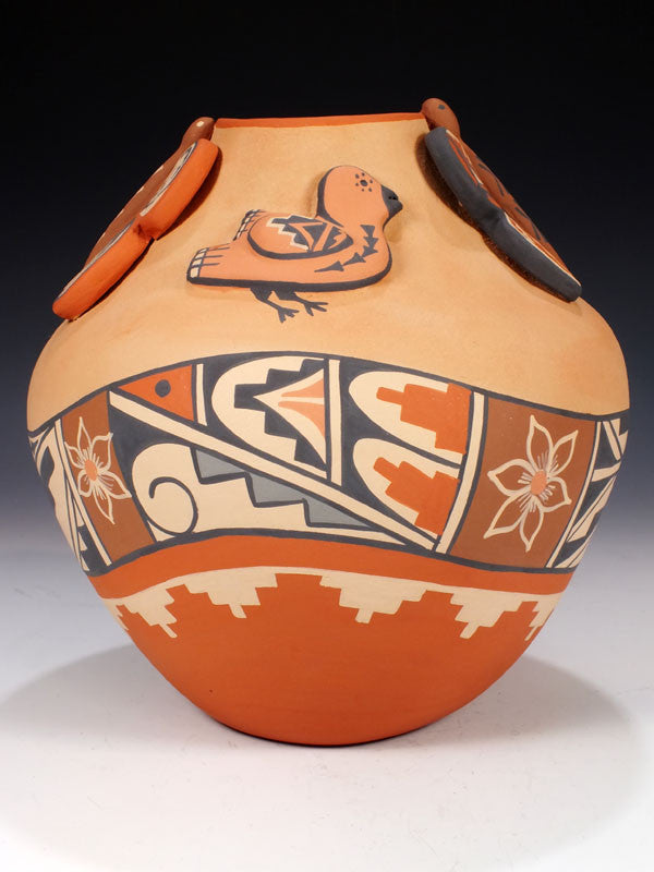 Jemez Pueblo Pottery by Linda Fragua - PuebloDirect.com - 1