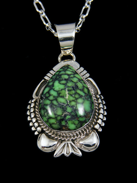 Native American Nevada Variscite Pendant