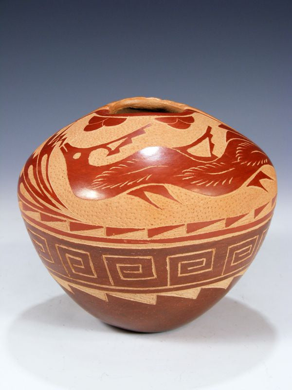 Jemez Pueblo Hand Coiled Pottery by Brenda Tafoya - PuebloDirect.com - 1
