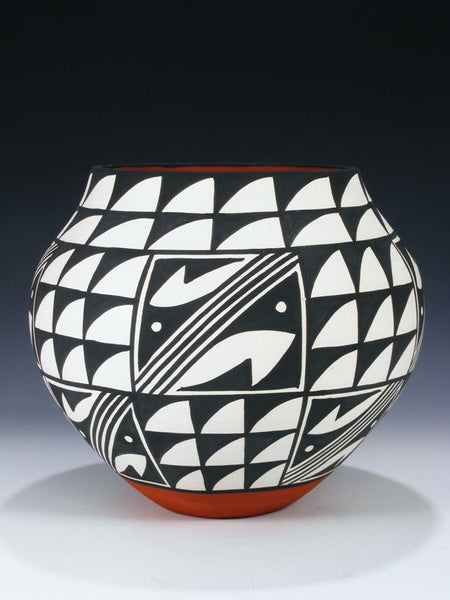 Acoma Pueblo Hand Coiled Pottery by Mary Antonio - PuebloDirect.com - 1