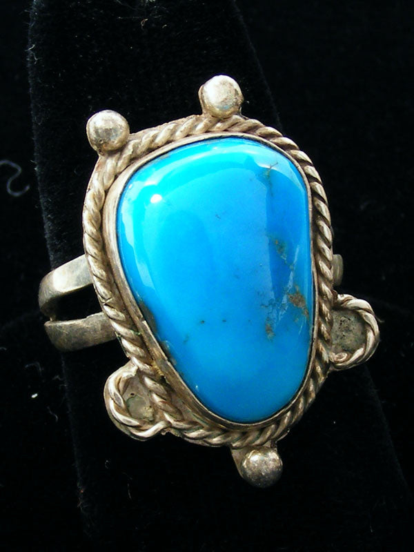 Turquoise Ring by Vintage Jewelry - PuebloDirect.com