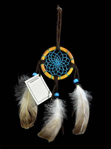 "2 1/2"" Hand Crafted Dream Catcher"