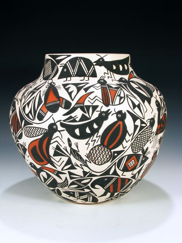 Hand Coiled Pottery by Andy Juanico - PuebloDirect.com - 1