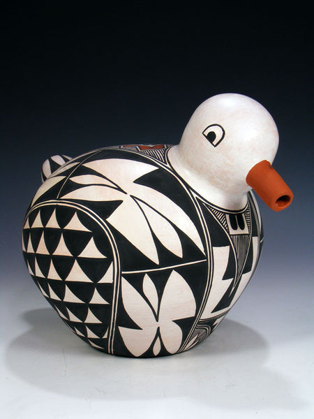 Acoma Pueblo Pottery Bird by Michelle Shields - PuebloDirect.com - 1