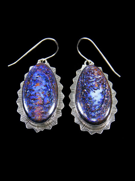 Native American Indian Jewelry Yowah Boulder Opal Earrings