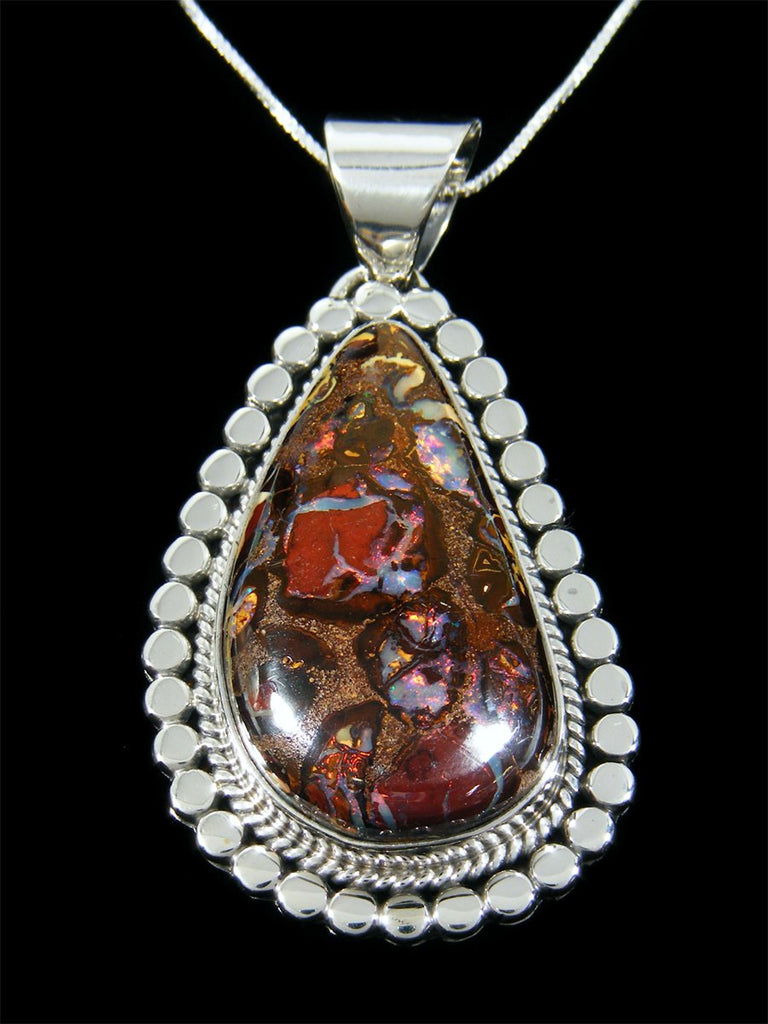 Native American Jewelry Yowah Opal Pendant