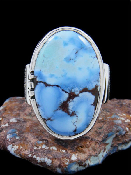Golden Hill Turquoise Ingot Ring, Size 6