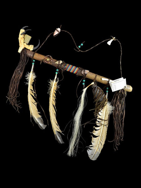 Native American Indian Eagle Claw Peace Pipe