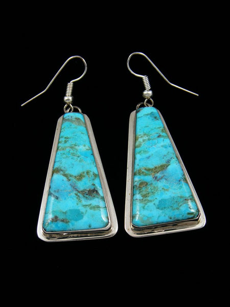 Turquoise Santo Domingo Earrings