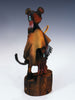 Hopi Mouse Warrior Kachina by Clyde Harris - PuebloDirect.com - 3