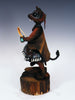 Hopi Mouse Warrior Kachina by Clyde Harris - PuebloDirect.com - 2