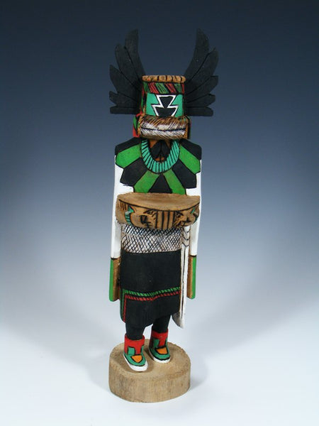 Hopi Hand Carved Crow Mother Kachina Doll