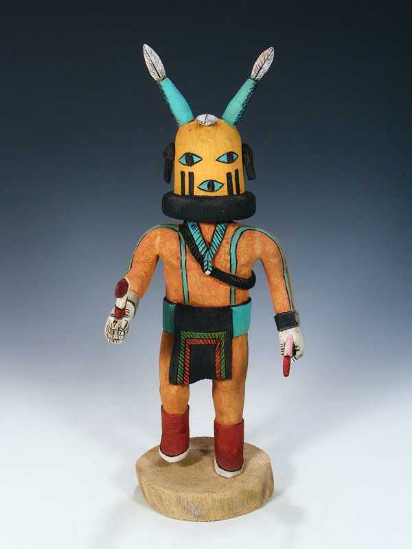 Hopi Hand Carved Scorpion Kachina Doll