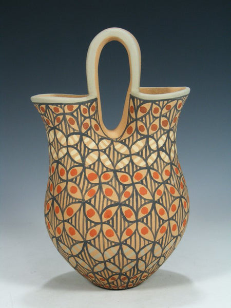 Jemez Pueblo Pottery Wedding Vase
