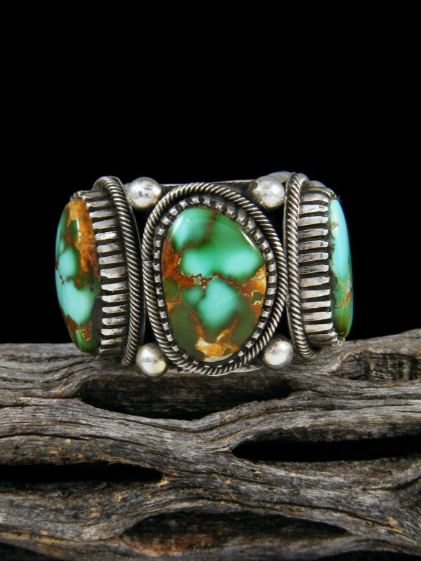Natural Royston Turquoise Ring, Size 8 1/2