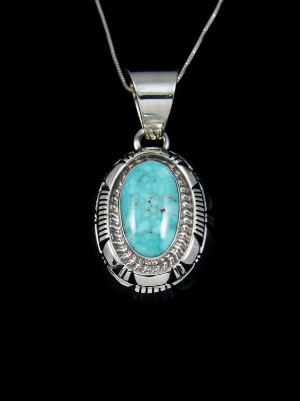 turquoise pendant corners online usa bead american necklace inch jewelry green necklaces butterfly nap native four