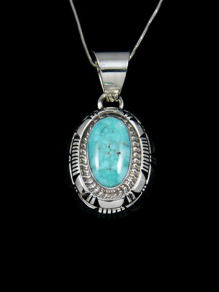 Native American Dry Creek Turquoise Pendant