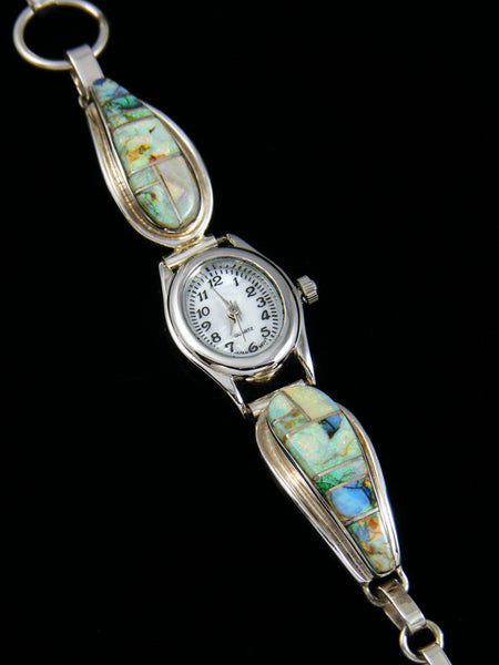 Cultured Opal Inlay Watch