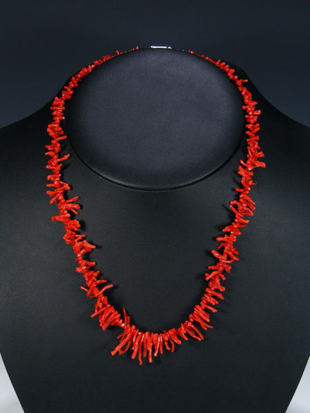Indian Jewelry Branch Coral Necklace