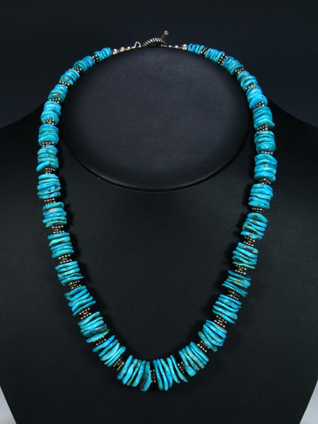 Old Native American Jewelry Turquoise Necklace