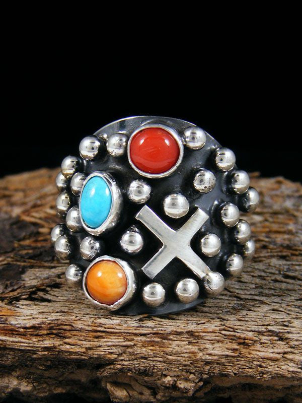 Multi-stone Ring by Ronnie Willie - PuebloDirect.com - 1