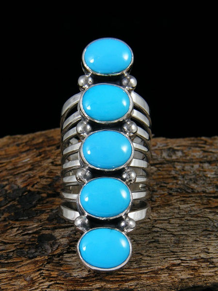 Turquoise Ring Size 6 1/2