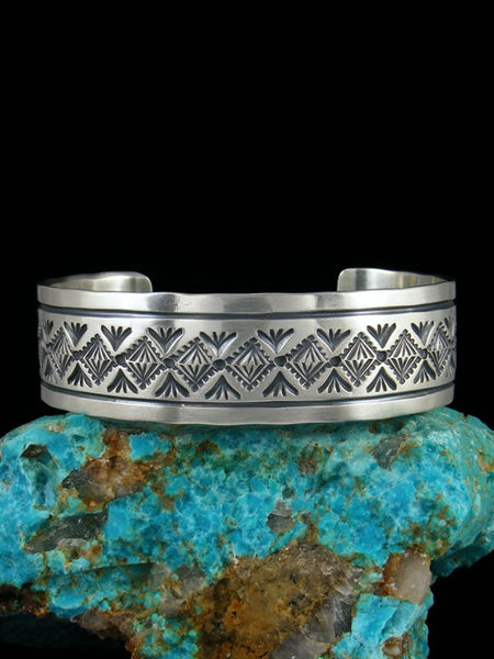 Native American Indian Jewelry Sterling Silver Bracelet
