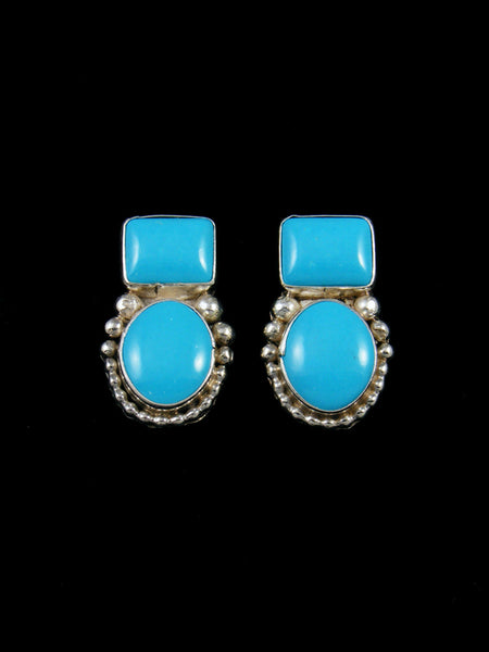 Turquoise Navajo Post Earrings