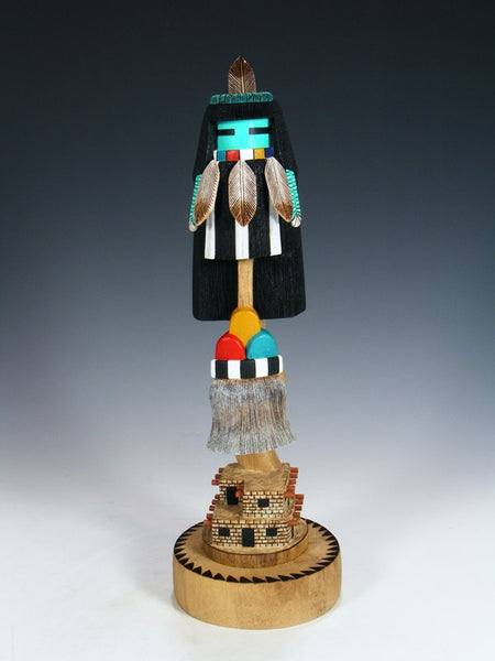 Carved Zuni Pueblo Rain Dancer Kachina Doll
