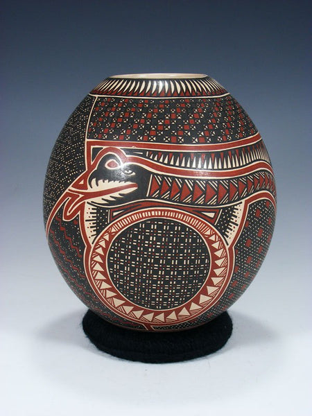 Mata Ortiz Hand Coiled Paquime Pottery