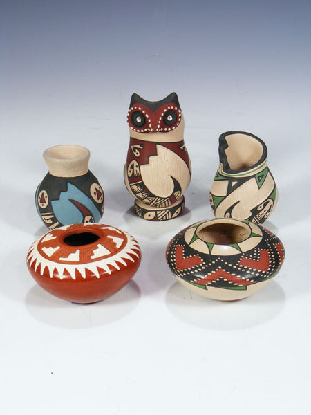 Mata Ortiz Hand Coiled Pottery by Mata Ortiz Artists - PuebloDirect.com - 1