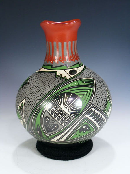 Mata Ortiz Hand Coiled Pottery by Fabian Ortiz - PuebloDirect.com - 1
