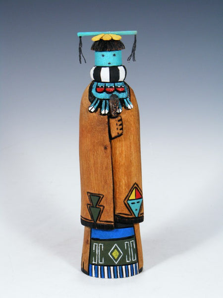 Carved Zuni Dancer Kachina Doll