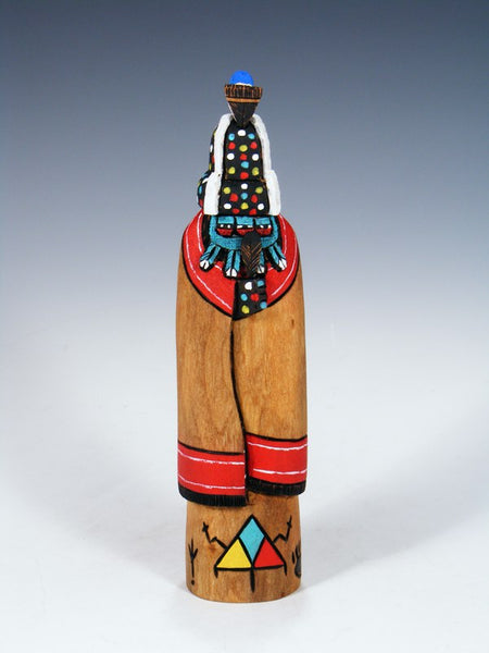Carved Zuni Firegod Kachina Doll
