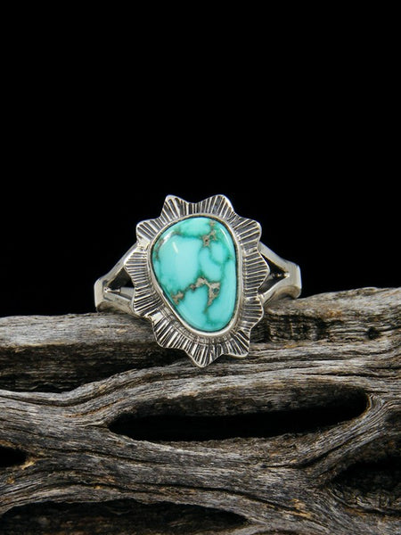 Easter Blue Turquoise Ring, Size 6