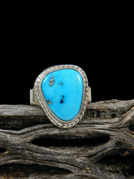 Sleeping Beauty Turquoise Ring, Size 6